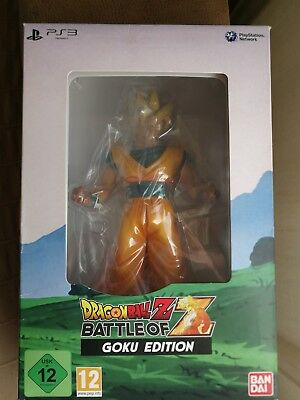 Dragon Ball Z Battle of Z No Juego Nuevo Pal España Goku Edition Figura Ps3