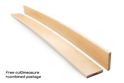 53 mm Replacement Bed Base Slats Beech Wood Curved Sprung Quality Slatted Frame