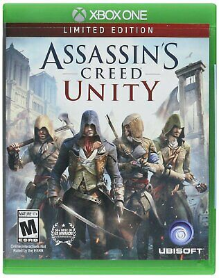 Assassins Creed Unity Limited Edition (Xbox One)