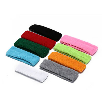 1pc sports yoga gym stretch headband band hair band sweat sweatband men women WG