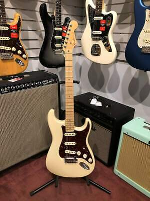 used fender american deluxe stratocaster 2006 olympic pearl