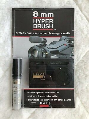 Track Mate 8mm Hyper Brush Professional Camcorder Cleaning Cassette (1992)
