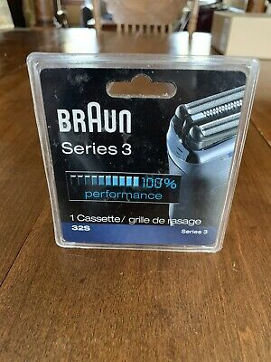 Braun 32S Series 3 Replacement Foil and Cutter Head Cassette - Genuine - New