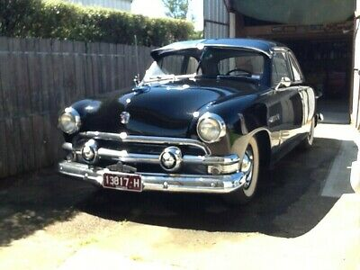 1951 Ford business coupe (twin spinner). LHD. 8ba .V8. 3speed manual overdrive.