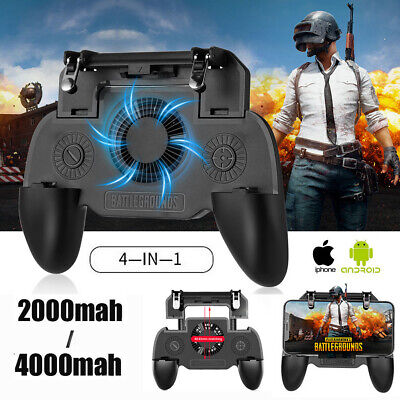 Mobile Phone Game Controller Joystick Cooling Fan Gamepad for PUBG Android IOS