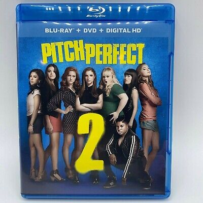 Pitch Perfect 2 (Blu-ray/DVD, 2015, 2-Disc Set) All DVD's are Buy 2 Get 1 Free