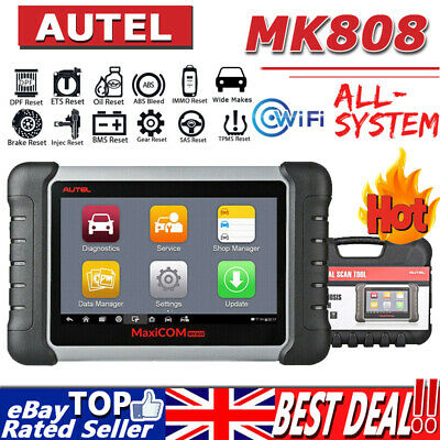 UPDATED! Autel MaxiCOM PRO MK808 MX808 OBD2 Car Diagnostic Scan Tool KEY CODING