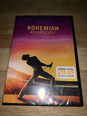 Brand New Sealed Bohemian Rhapsody DVD