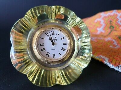 Old Harrods Table Clock …beautiful collection & display item