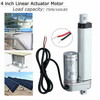 12V 750N Linear Actuator Motor 50mm/2 in For Auto Car RV Electric DoorOpener AU