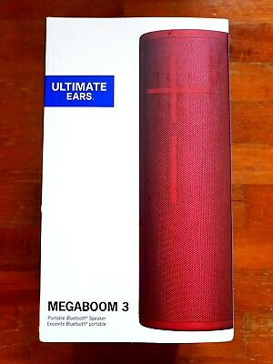 UE MEGABOOM 3 Portable Bluetooth Speaker-Night Black (Free