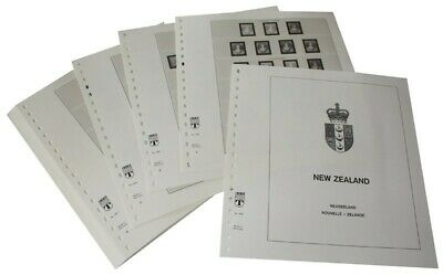 New Zealand - Lindner Illustrated album pages Year 1855-1952