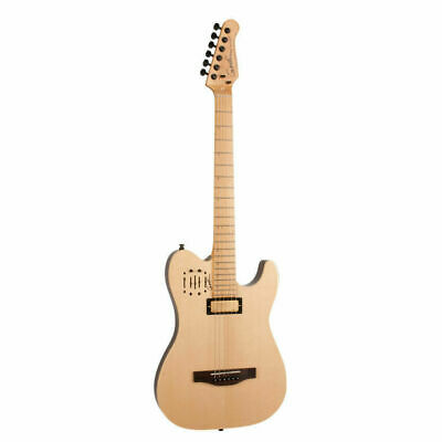 GODIN  Acousticaster DLX  Electric Guitar Natural Maple Neck with gig Bag
