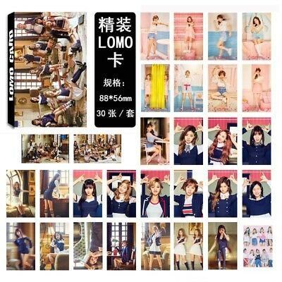 Kpop Twice Lomo Card All Album Paper Photo Card Collective Photocard 30pc/st