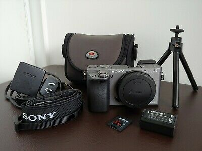 SONY A6000 24.2MP Mirrorless Camera (Body Only) Low Shutter Count As New