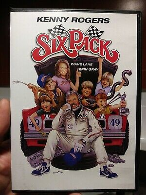 Six Pack (1982, DVD) Kenny Rogers. Diane Lane. Erin Gray