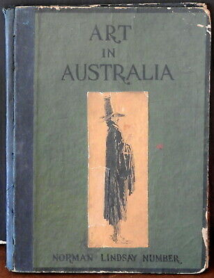 1930 Art In Australia Norman Lindsay Edition Drawings Etchings Watercolours Nude