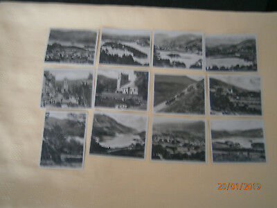 10 Vintage Photo Cards of the Lake District - Westmorland, Cumberland, Cumbria