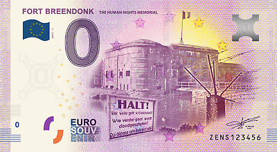 Billet Touristique 0 Euro --- Fort Breendonck, The Human Rights Memorial  2017-1
