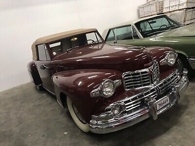 Lincoln 1948 Continental convertible