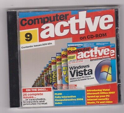 Computer Active CD Number 9 (Issues 209-234)