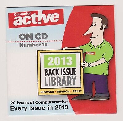 Computer Active CD Number 16 (Every Issue In 2013))