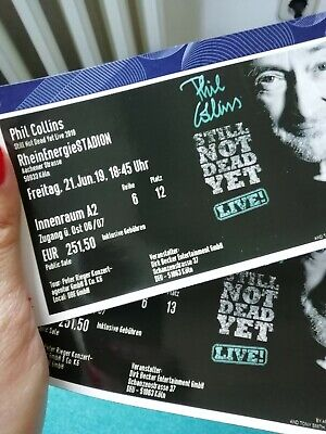Phil Collins, 2 Tickets, 21.6.19 Köln, Innenraum A2
