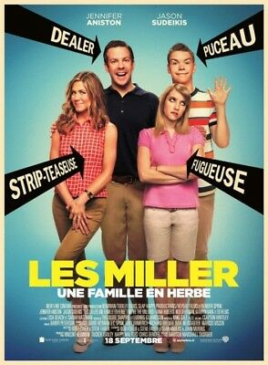 Une Familia Hierba los Miller We'Re The Millers) DVD Nuevo Blister