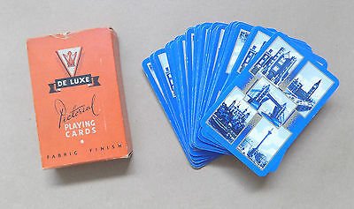 Vintage UNIVERSAL PLAYING CARDS CO Pictorial Playing Cards - London Views