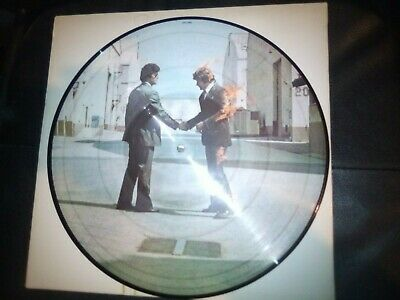 PINK FLOYD Wish You Were Here PICTURE DISC. Very good condition.