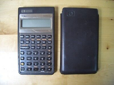 CALCULADORA Hewlett Packard HP 17bII Business CALCULATOR VINTAGE HP-17B II