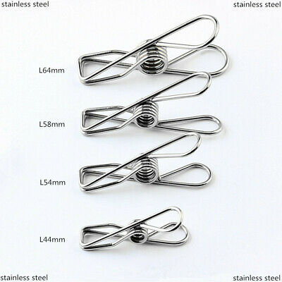 stainless steel clothes pegs pins clips washing line airer dryer line discounts