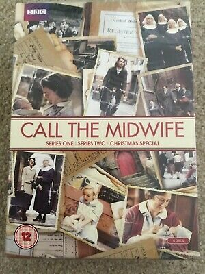 Call the Midwife Series 1+2 & Christmas Special DVD Box Set BBC BRAND NEW SEALED