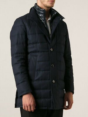 127d36ab49 NWT THOM BROWNE x Moncler Gamme Bleu Quilted Down Jacket in Grey, 3 ...