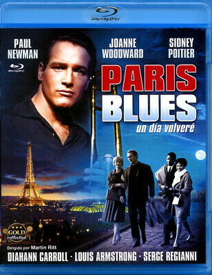 Paris Blues Blu-Ray Disc Precintado Novedad Paul Newman - Joanne Woodward