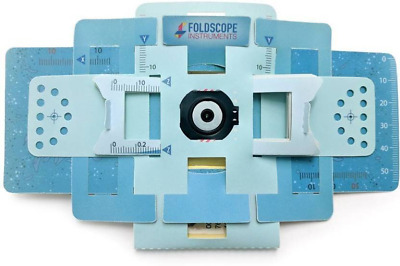 Foldscope Kit! Pocket Microscope in Different Colors Carrying Case NEW