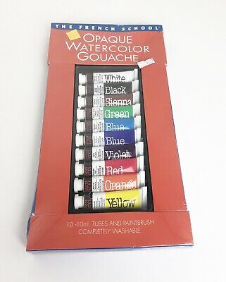Savoir-Faire The French School Opaque Watercolor Tube Set of 10