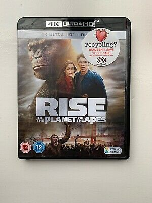 Rise Of The Planet Of The Apes 4k Ulra Hd Blu Ray