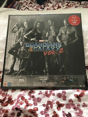 "Guardians Of The Galaxy Vol. 2 - Big Sleeve Edition - Blu-ray + DVD + 12"" Vinyl"