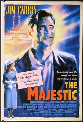 R775 MAJESTIC int'l 1sh 2001 great art of Jim Carrey, directed by Frank Darabont