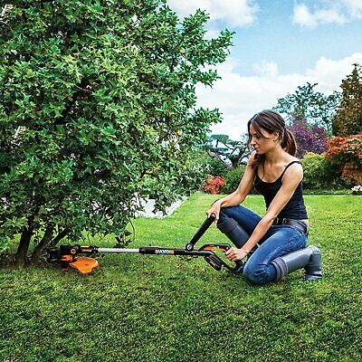 "Worx WG163.9 GT 3.0 20V PowerShare 12"" Cordless String Trimmer Edger Grass Tool"