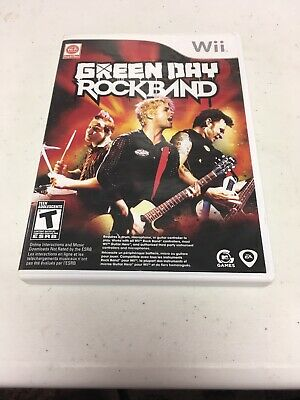 Rock Band: Green Day - Nintendo Wii Complete RockBand