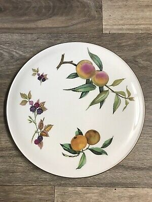 Royal Worcester Arden Cake Plate / Cheese Platter