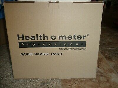 Health O Meter 895KLT - 500lb capacity - scale - New In Box