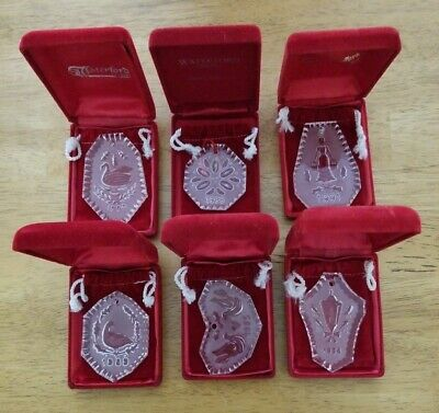 Waterford Crystal Ornament 1984-1991 with Original Case