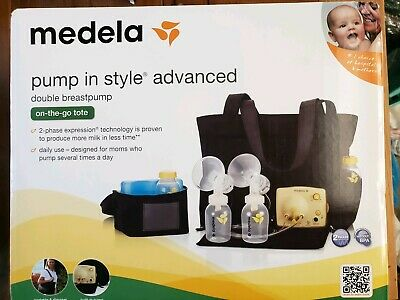 Medela Pump in Style Advanced with On the Go Tote, NEW OPEN BOX