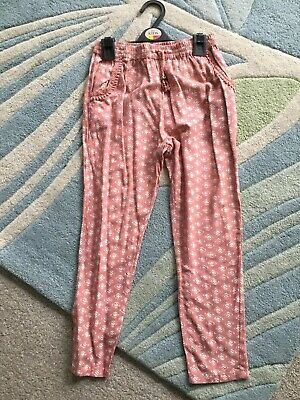 Next Summer Holiday Trousers with Drawstring- Size Age 9 - Excellent Condition