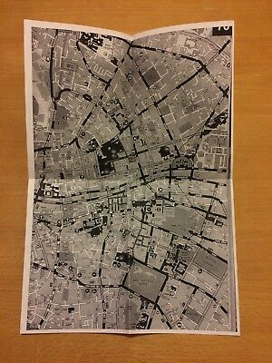 Handy printed map of Dublin