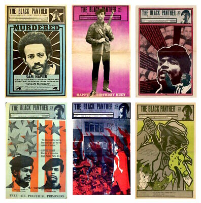 The Black Panther Party Newspaper's 1967-1980 (7 DVDs) 467 Issues PDF's + EXTRAS