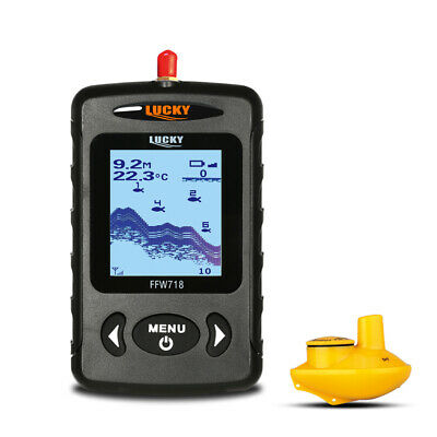 LUCKY Portable Professional Sounder Wireless Sonar Fish Finder Fishing F9C6